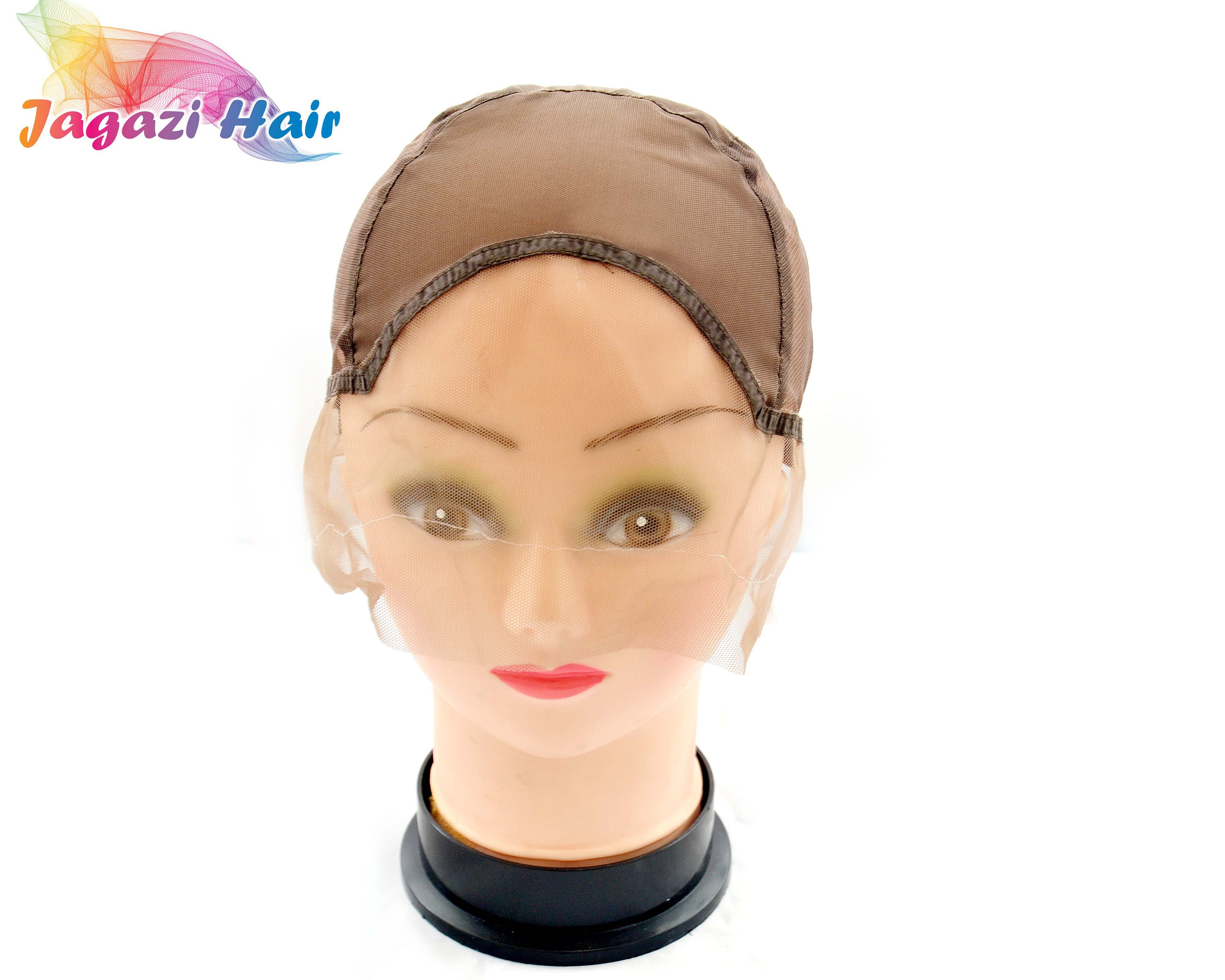 Classic Brown Lace Front Wig Cap Weave Net For Diy Wig Making By